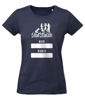 JGA Shirt Frauen in Dunkelblau